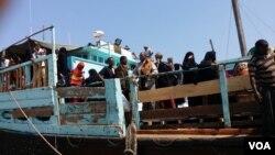 Muuqaalka Dadka Soomaalida ah ee ka soo qaxay dagaalka Yemen