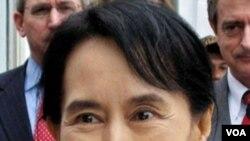 Pemimpin demokrasi Birma yang masih berada dalam tahanan rumah, Aung San Suu Kyi