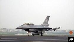 台空军F-16 战机