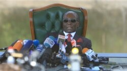 Former Zimbabwe President Re-Emerges On Eve of Crucial Elections; Calls for Return of Constitutionality
