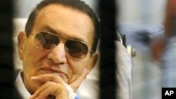 Хосни Мубарак. Архивное фото.
