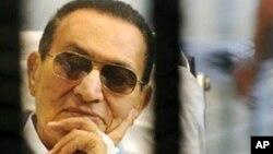 前埃及總統穆巴拉克(資料圖片)