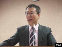 台湾执政党民进党立委张宏陆
