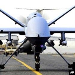 美國的無人駕駛飛機(資料圖片)