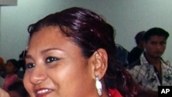 Family file photo taken on taken on December 31, 2004 and released by Notiver newspaper of journalist Yolanda Ordaz de la Cruz, who was found dead in Veracruz on July 26, 2011