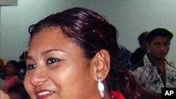 Family file photo taken on taken on December 31, 2004 and released by Notiver newspaper of journalist Yolanda Ordaz de la Cruz, who was found dead in Veracruz on July 26, 2011