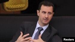 Shugaba Bashar al-Assad na kasar Sham, wanda ya lashi takobin kawar da abinda ya kira 'yan ta'adda daga kasar