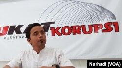 Zaenur Rohman, Peneliti Pukat Korupsi UGM2. (Foto: Nurhadi)