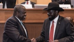 Le président Salva Kiir exhorte le Parlement et autres responsables à soutenir l'accord de paix