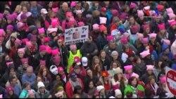 Trump Karşıtı Kadınlar Yürüyüşüne Ünlü Akını