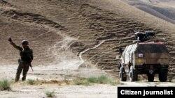 სურათზე: ქართული პატრული ბალხის პროვინციაში, აქედან ყუნდუზამდე 150 კილომეტრია