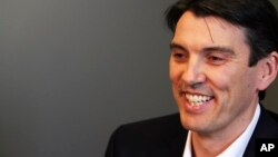 FILE - AOL CEO Tim Armstrong.