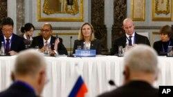 Заместитель госсекретаря США Андреа Томпсон принимает участие в конференции по Договору о нераспространении ядерного оружия, Пекин, КНР, 30 января 2019 года