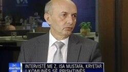 Intervistë me z. Isa Mustafa, kryetar i LDK