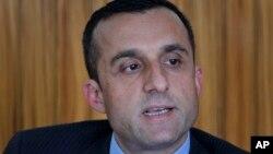 د افغانستان د ملي امنیت د ادارې پخوانی رئیس امرالله صالح