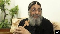 Uskup Tawadros dari Beheira terpilih menjadi Paus Iskandarsyah dan Pemimpin Seluruh Afrika dalam Keuskupan Suci Rasul Santo Markus (foto: 2/11/2012)..
