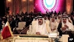 KTT Liga Arab di Doha, Qatar dikecam karena memberikan kursi Suriah yang kosong kepada pihak oposisi anti pemerintah (27/3).