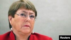 Komisaris Tinggi PBB untuk HAM, Michelle Bachelet