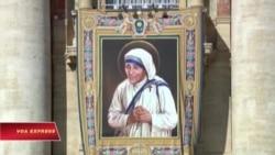 Đức Giáo Hoàng Phanxicô phong hiển thánh cho Mẹ Teresa