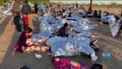 На кордоні США та Мексики збільшився наплив мігрантів: що робить Білий дім для врегулювання кризи? Відео