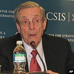 在1981年到85年期间担任里根总统的贸易代表布罗克大使