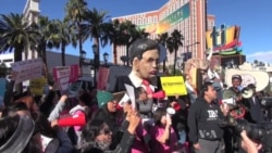 Republican Debate Site Draws Protesters, Supporters
