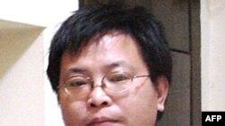 Sau khi tòa tuyên án, ông Trần Vệ nói ông không có tội và tuyên bố độc tài sẽ thất bại và dân chủ chắc chắn sẽ thắng