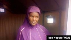 Djeneba Diallo à Barsalogho, au Burkina, le 25 mars 2019. (VOA/Issa Napon)
