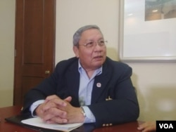 Roger Arteaga, exgerente regional del Banco Centroamericano de Integración Económica. Foto Daliana Ocaña, VOA.