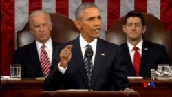 2016-01-13 美國之音視頻新聞: 奧巴馬總統發表任內最後一份國情咨文