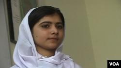 Malala Yousafzai, aktivis remaja puteri Pakistan yang mengecam kelompok Taliban (foto: dok).
