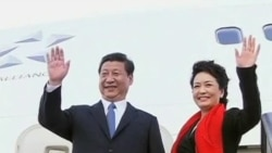 Chinese First Lady Turning on the Charm and Turning Heads