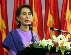 Lãnh tụ đối lập Aung San Suu Kyi