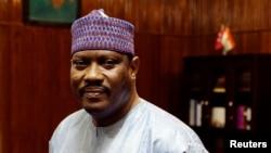 L'opposant et candidat à la présidentielle nigérienne, Hama Amadou