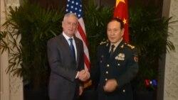 美中防長在新加坡會晤 希望繼續推進兩軍關係
