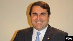 El presidente de Paraguay también comparecerá ante la OEA este viernes sobre las próximas elecciones presidenciales en su país. [Foto: Gilberto Cabrera, VOA].