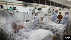 Hospital Gilberto Novaes em Manaus, Brazil