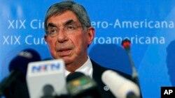 El expresidente de Costa Rica y premio Nobel de la paz, Oscar Arias, es uno de los firmantes.