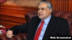 Bộ trưởng Tài chính Pakistan Ishaq Dar.