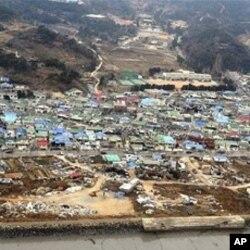 北韓炮擊南韓延坪島造成嚴重破壞