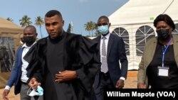 """Efigénio Baptista, juiz do caso """"dívidas ocultas"""", Maputo, Moçambique"""