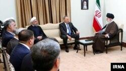 رئیس جمهوری قزاقستان با رهبر جمهوری اسلامی ایران نیز دیدار کرد.