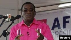 Le chef de file de l'opposition ivoirienne Pascal Affi Nguessan, 21 janvier 2016.