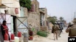 Військовий патруль у місті Гадіта