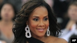 Actress Vivica A. Fox in Los Angeles in 2009