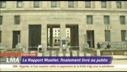 Le Rapport Mueller finalement livré au public