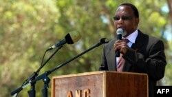 Le vice-président sud-africain, Kgalema Mothlante, le 11 février 2010.