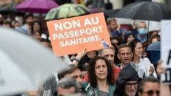 法國立法強制醫務人員接種新冠疫苗 推廣健康通行證