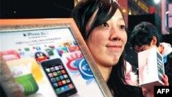 Презентация продукции Apple в Китае