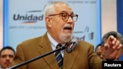 Ramón Guillermo Aveledo, secretario ejecutivo de la MUD.